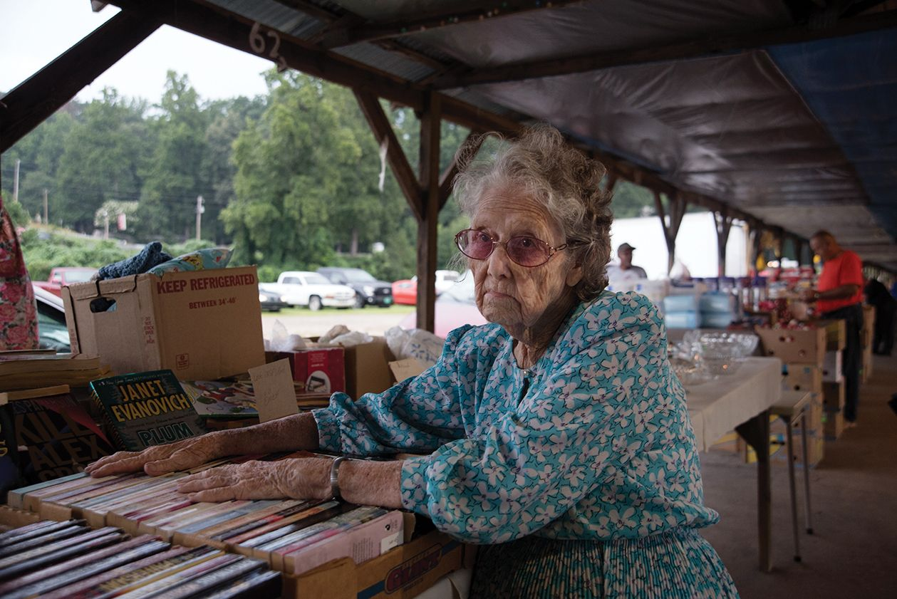 The flea market in Pickens County. (5 of 10)