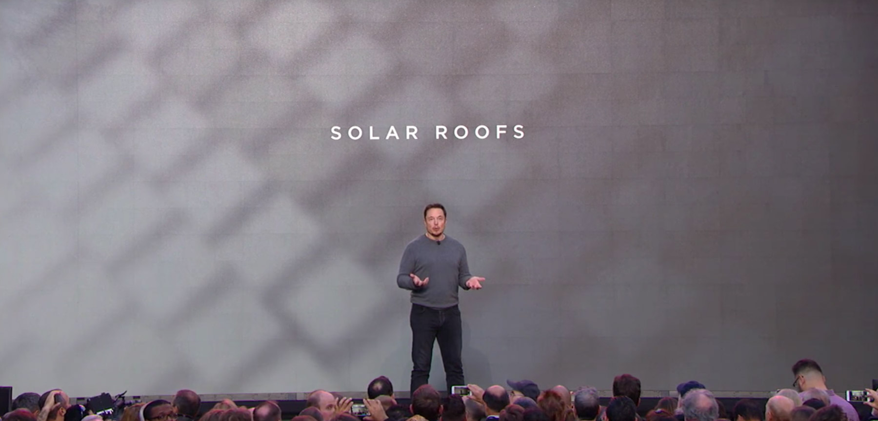 Elon Musk sees a bright future for Tesla's latest product.