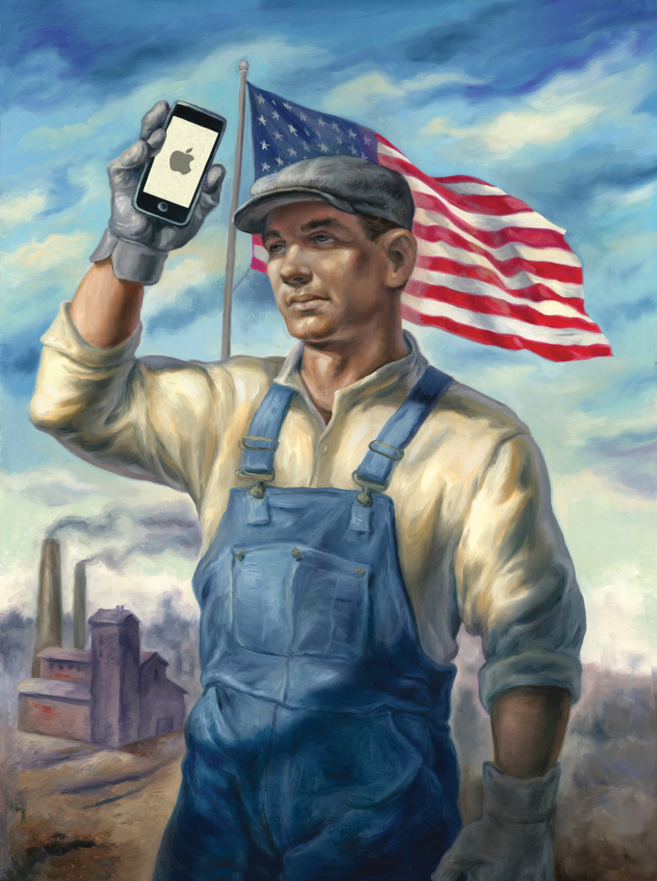 "<b><a href=""https://www.technologyreview.com/s/601491/the-all-american-iphone/"">The All-American iPhone</a></b> <br> Illustration by Owen Smith"