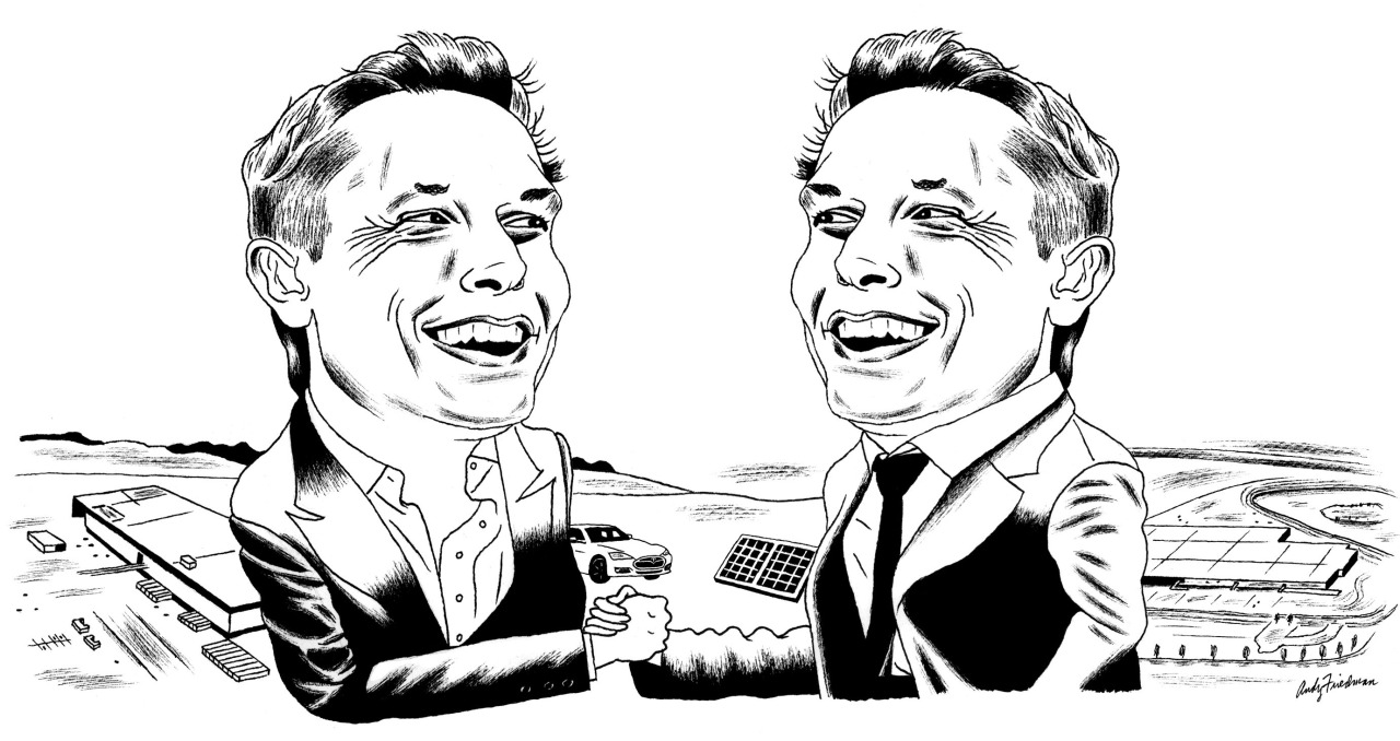 "<b><a href=""https://www.technologyreview.com/s/602487/elon-musks-house-of-gigacards/"">Elon Musk's House of Gigacards</a></b> <br> Illustration by Andy Friedman"