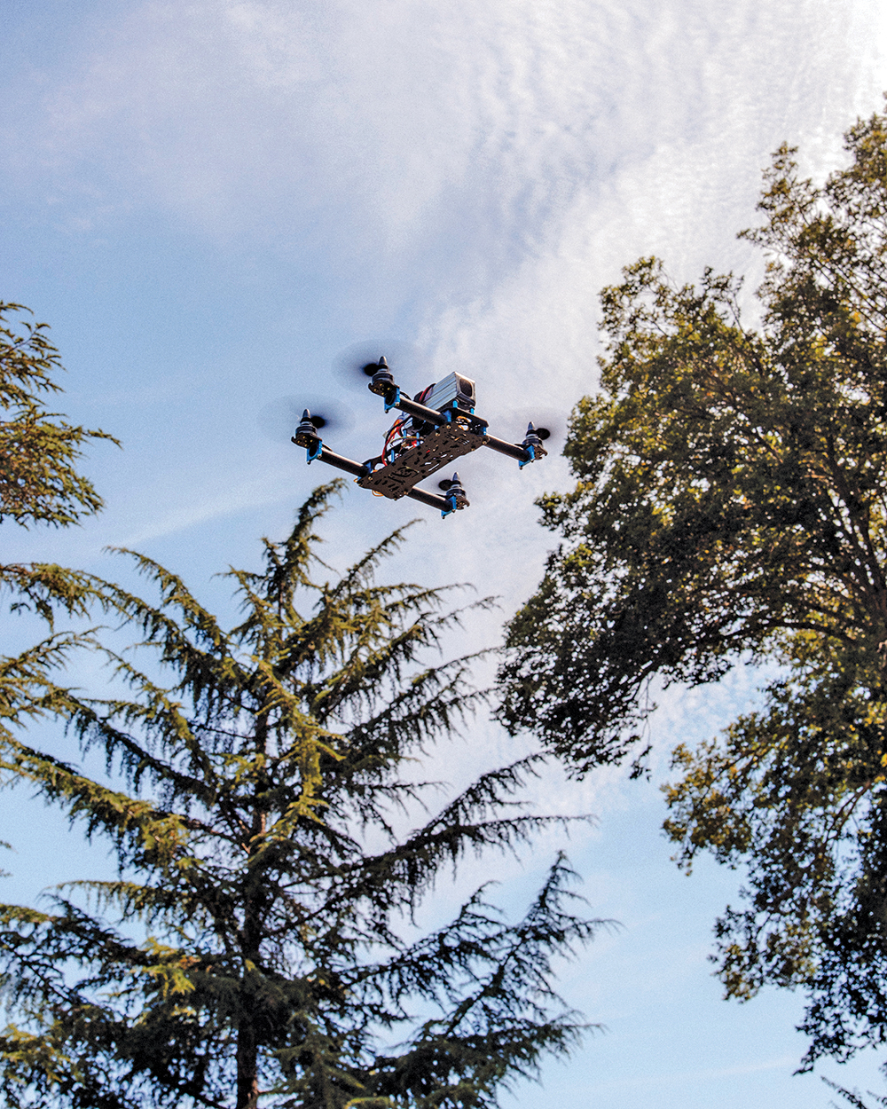 Building drones that can navigate the world and serve as airborne assistants.