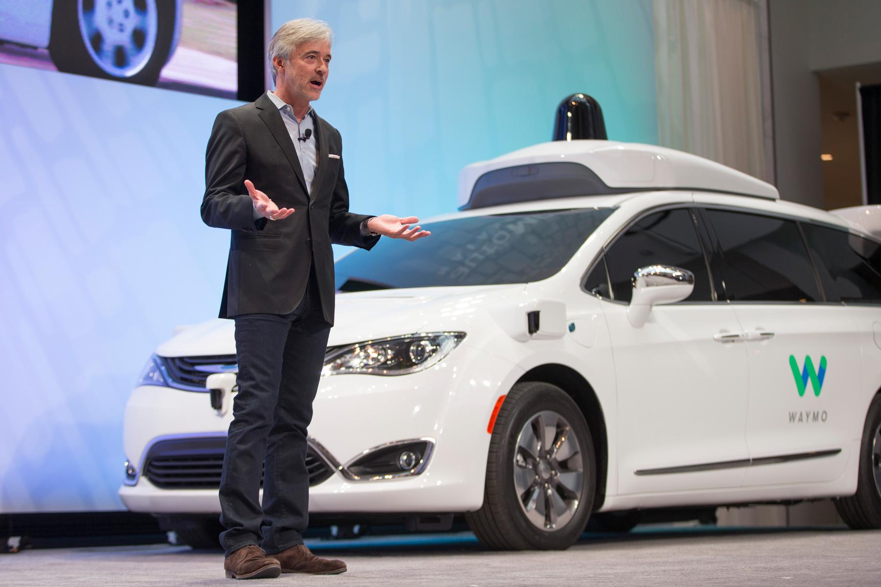 Waymo's CEO, John Krafcik, doesn't want his cars to be hacked.