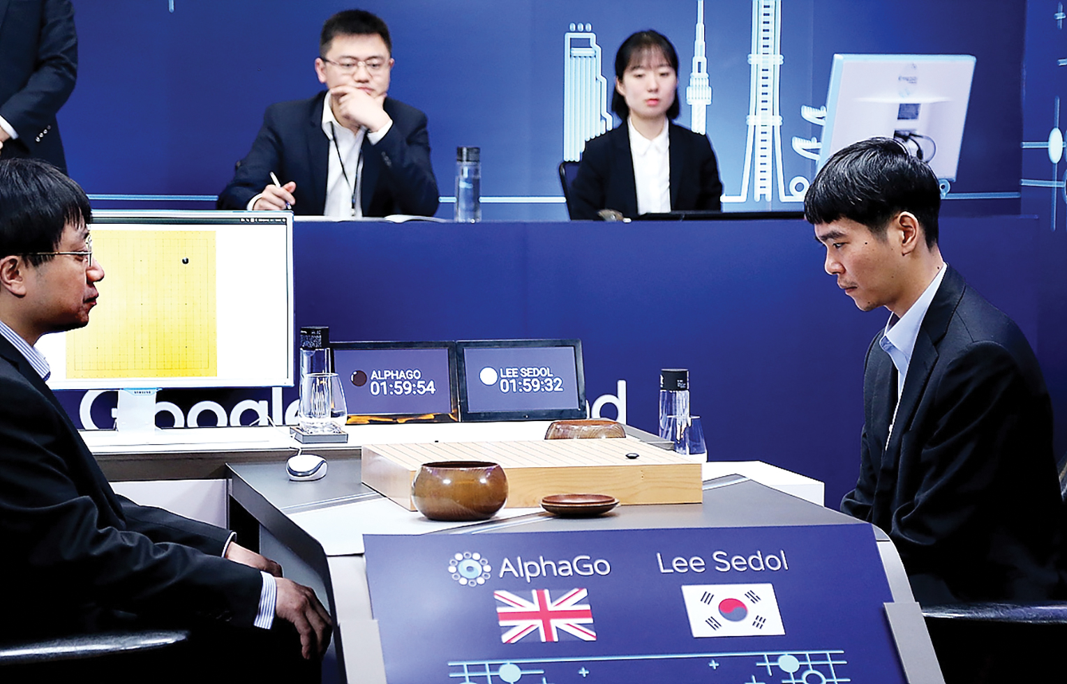 Reinforcement learning led to AlphaGo's stunning victory over a human Go champion last year.