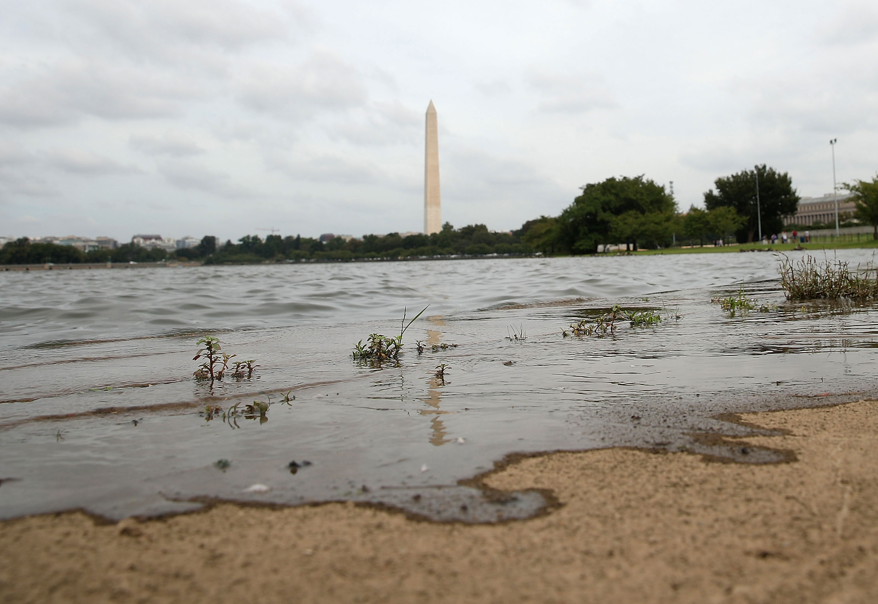 Nussiance high tides are even hitting Washington, D.C..