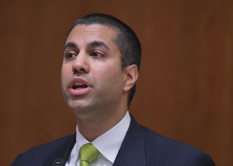 FCC chair Ajit Pai