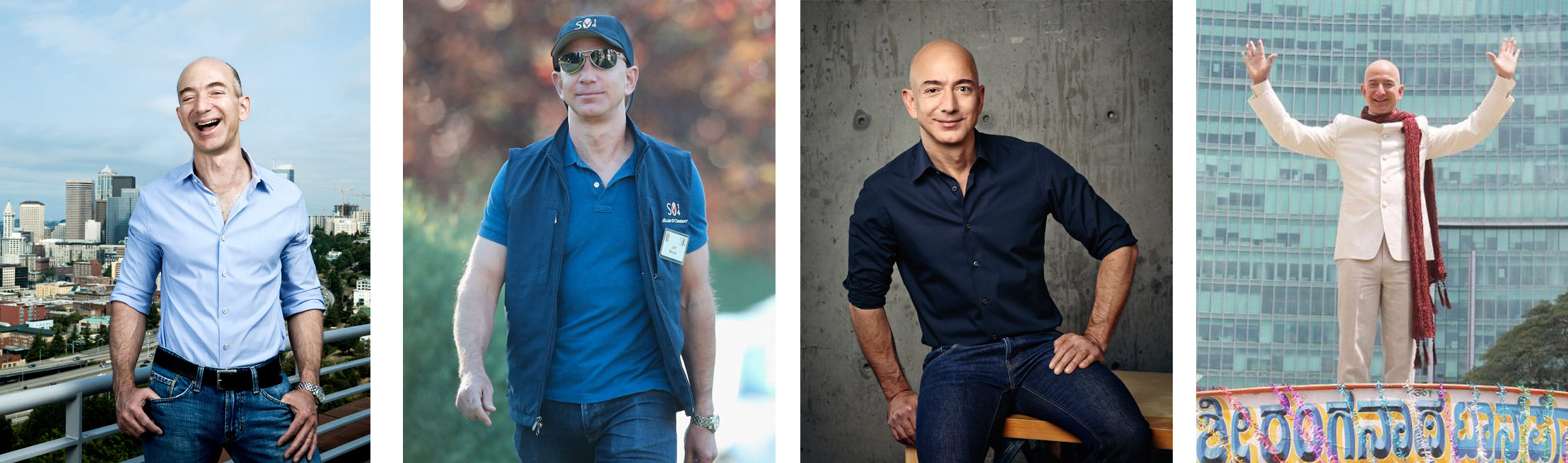 Which Jeff Bezos wore it best?