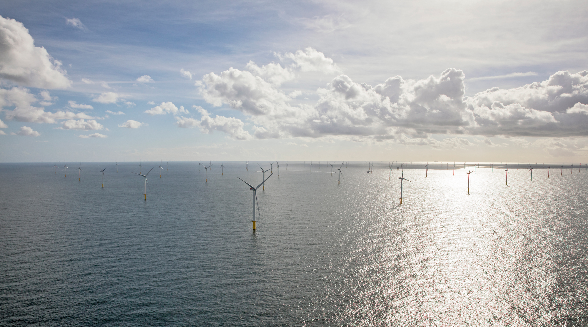 The Gemini wind farm includes 150 turbines in the North Sea.