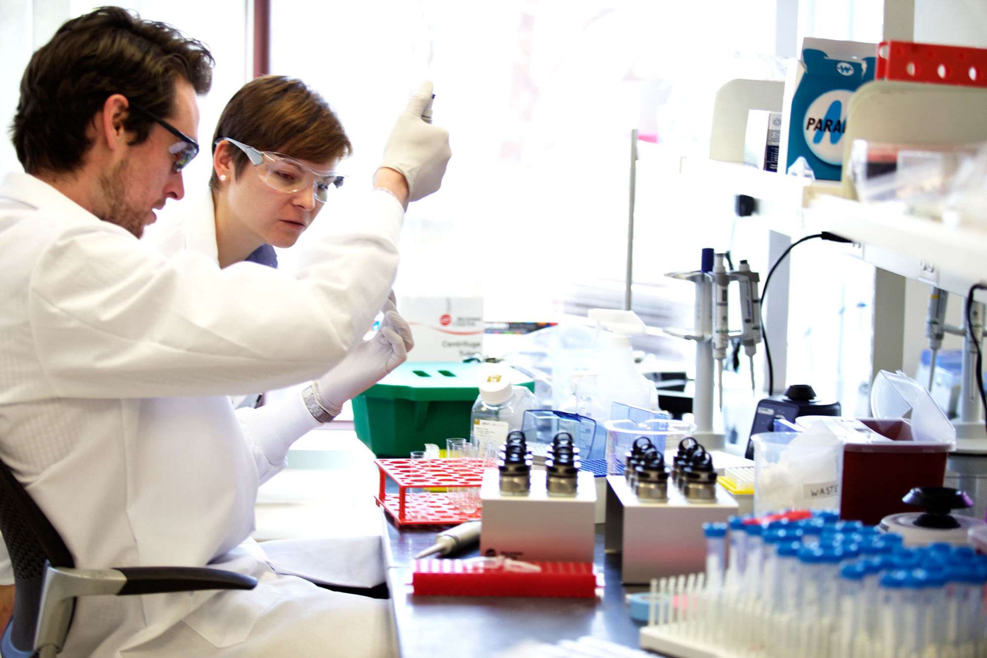 At Codiak Biosciences, researchers are working on engineering exosomes—tiny, naturally occurring sacs in the body—to treat pancreatic cancer.