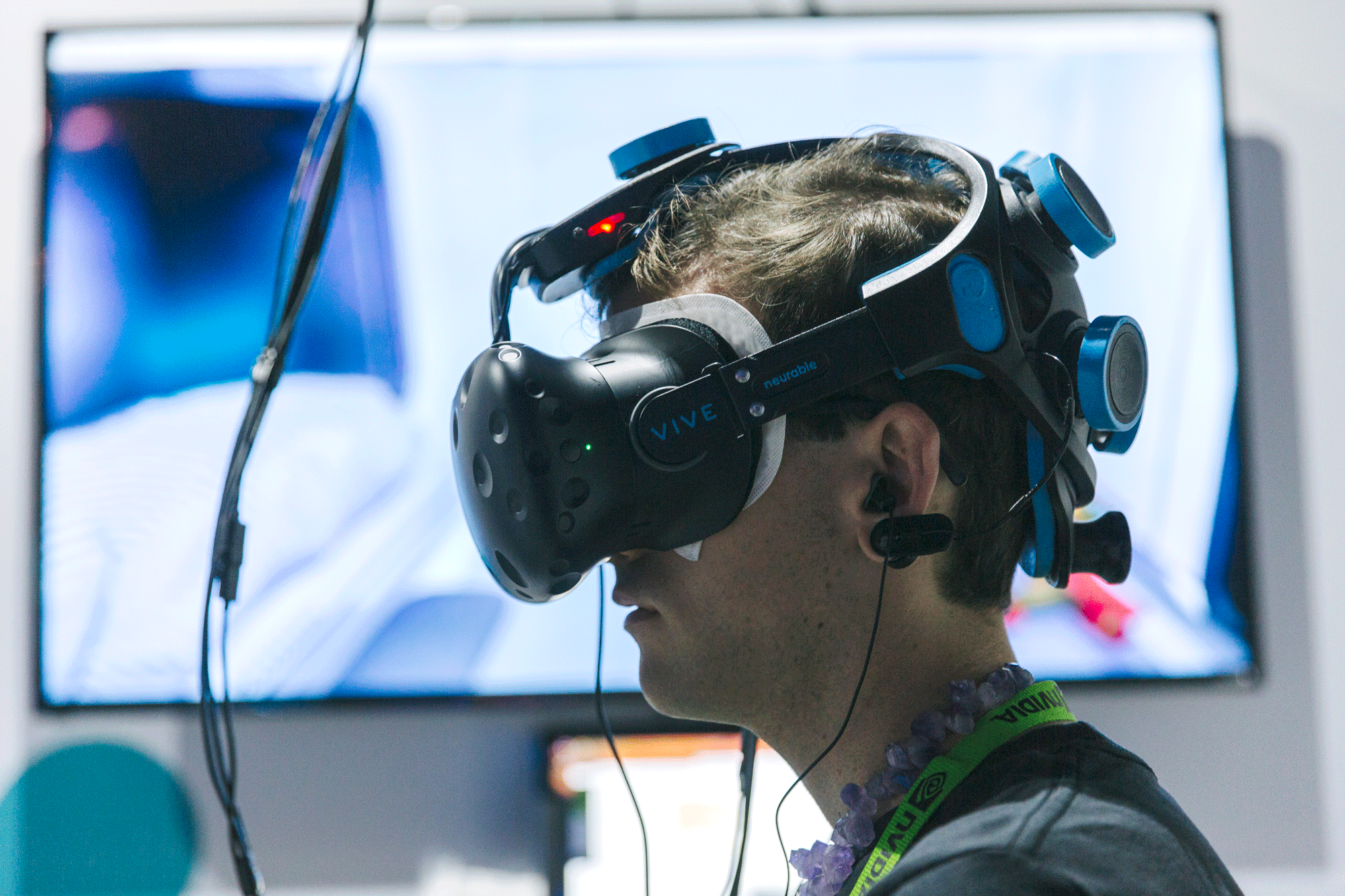 Neurable is working on a virtual-reality video game that you can control with your brain.