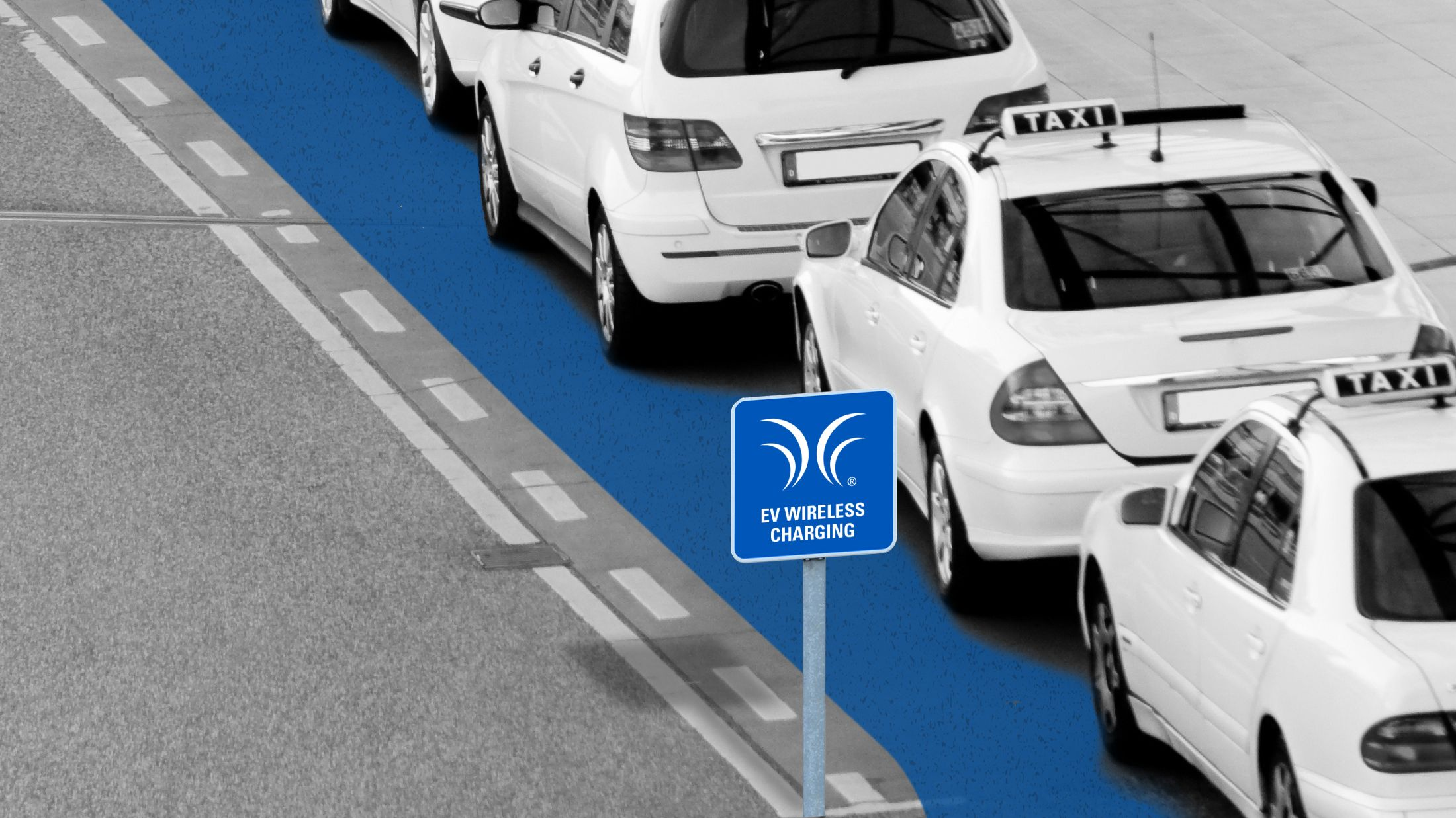 Eventually, its technology could be used to electrify a stretch of road—for example, under a taxi queue.