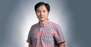 He Jiankui leads a team using the gene-editing technology CRISPR in an effort to prevent disease in newborns.