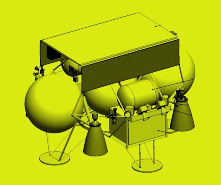 Masten's design for its XL-1 lunar lander